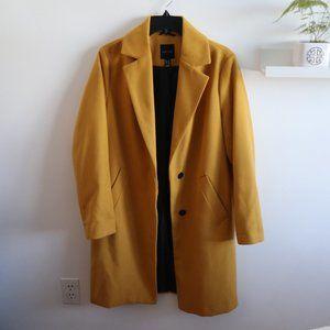 New Look Yellow Coat